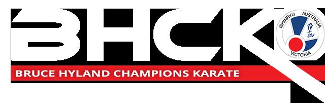 Bruce Hyland Champions Karate Ishinryu Frankston Victoria
